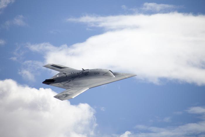 현재 개발 시험 중에 있는 미 해군의 무인기 X-47B ⓒ Northrop Grumman Corp.